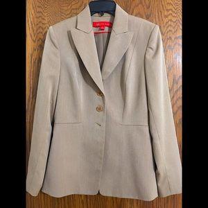 Anne Klein Tan Suit Jacket